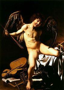 Amor vincit omnia; Caravaggio.